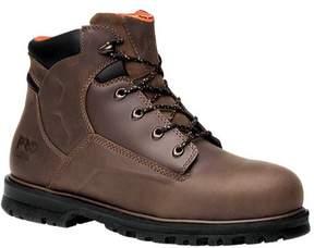 Timberland Men's Magnus 6' Safety Toe Work Boot, Brown, 7.5 M US