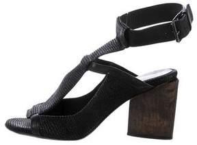 Zero Maria Cornejo T-Strap Sandals