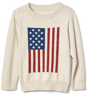Gap Stars and stripes crew sweater