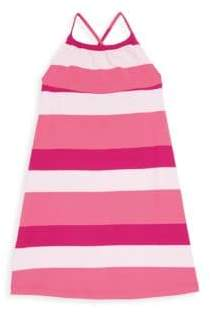 Oscar de la Renta Little Girl's & Girl's Colorblock Swim Dress