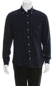Gitman Brothers Plaid Wool-Blend Shirt