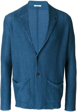 Nuur knitted fitted blazer