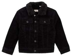 AG Jeans Brody Faux Shearling Collar Corduroy Jacket (Toddler & Little Boys)