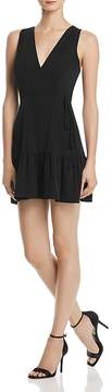 Aqua Ruffle-Hem Wrap Dress - 100% Exclusive