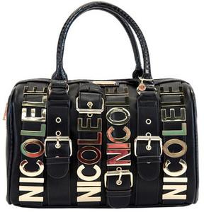 Women's Nicole Lee Hilliard Belt Embellish Boston Bag