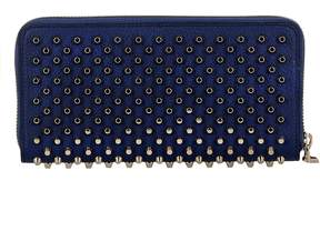 Christian Louboutin China Blue Leather Wallet