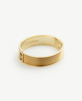 Ann Taylor Striped Bangle