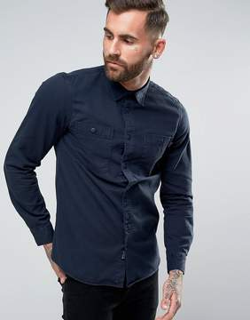 Jack Wills Bagley Military Shirt in Regular Fit