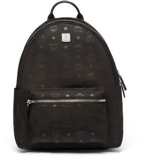 MCM Dieter Teardrop Backpack In Monogrammed Nylon