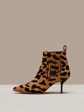 Diane von Furstenberg Mollo Calf Hair Boots
