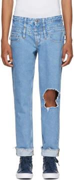 GUESS Midnight Studios Indigo Edition Slim Tapered Jeans