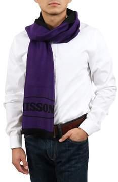 Missoni Purple/black Signature Scarf.