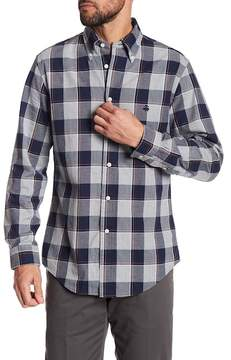 Brooks Brothers Brushed Oxford Regent Plaid Regular Fit Shirt