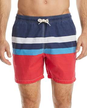 Barbour Striped Swim Trunks
