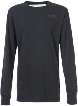 Off-White dad time on deck long sleeve T-shirt