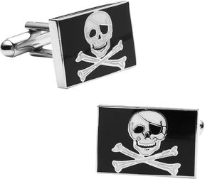 Accessories Skull and Crossbones Cuff Links