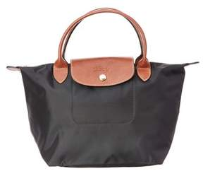 Longchamp Le Pliage Small Nylon Top Handle. - BLACK - STYLE