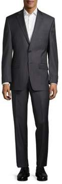 Lauren Ralph Lauren Sharkskin Wool Slim-Fit Suit