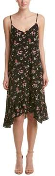 Cotton Candy Floral Midi Dress.
