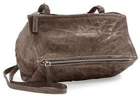 Givenchy Pandora Mini Pepe Crossbody Bag, Charcoal