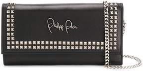 Philipp Plein studded clutch