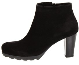 La Canadienne Womens Malin Suede Almond Toe Ankle Fashion Boots.