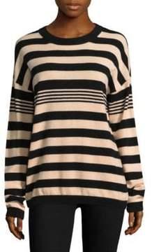 Equipment Bryce Striped Cashmere Sweater