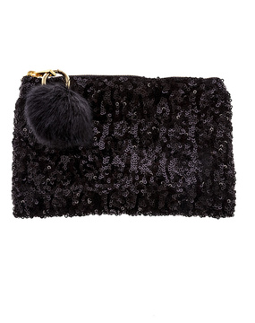 Two's Company Sequined Clutch