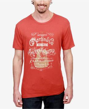 Lucky Brand Men's Martin Guitar Graphic Print T-Shirt