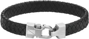 Triton Axl By AXL by Stainless Steel Leather Bracelet - Men