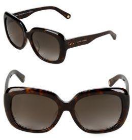 Marc Jacobs Gradient 57MM Oval Sunglasses