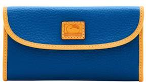 Dooney & Bourke Patterson Leather Continental Clutch Wallet - MARINE - STYLE