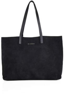 WANT Les Essentiels Strauss Horizontal Suede Tote