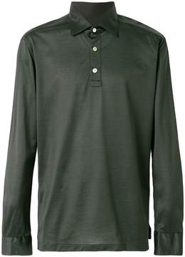 Kiton half button shirt