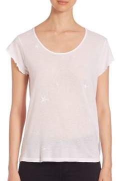 RtA Short Sleeve Cotton & Cashmere Tee