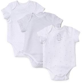 Little Me Unisex Welcome Bodysuit, 3 Pack - Baby
