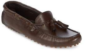 Canali Round Toe Leather Drivers