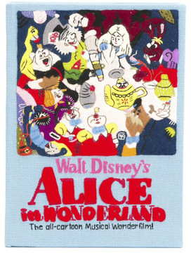 Olympia Le-Tan 'Alice In Wonderland' clutch
