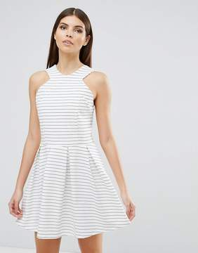d.RA Rosalie Stripe Skater Dress