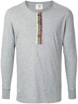 Kent & Curwen button up sweatshirt