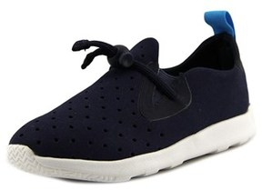 Native Apollo Moc Toddler Round Toe Canvas Blue Sneakers.