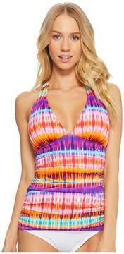 Bleu Rod Beattie Dream Weavers Halter Tankini Women's Swimwear