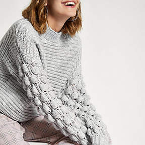 River Island Bobble Jumper