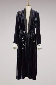 Forte Forte Forte_forte Velvet Kimono Coat