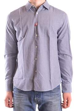 Altea Men's Grey Cotton Shirt.