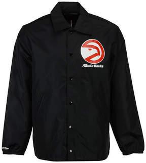 Mitchell & Ness Men's Atlanta Hawks Coaches Jacket