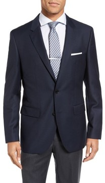 BOSS Men's 'James' Trim Fit Wool Blazer
