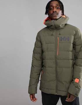 Helly Hansen Pointnorth Jacket In Green
