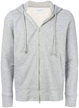 Officine Generale classic zipped hoodie