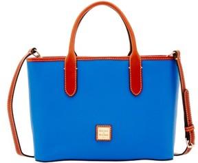 Dooney & Bourke Pebble Grain Brielle Top Handle Bag - FRENCH BLUE - STYLE